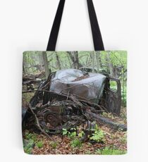 March Old Motor Car Tote Bag