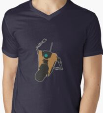 Claptrap Party Mens V-Neck T-Shirt