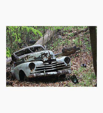 May Old Motor Car Photographic Print