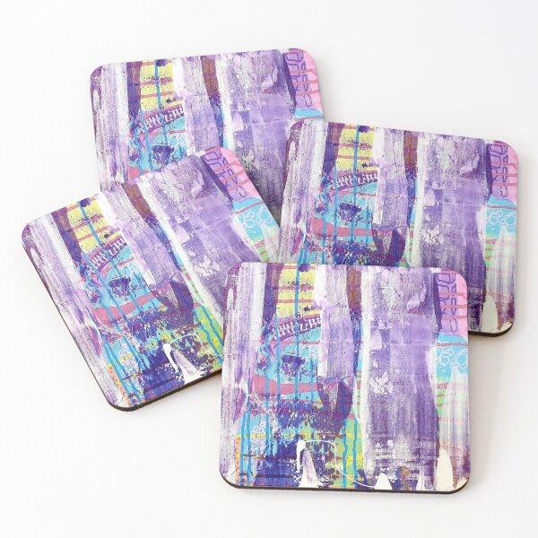 Lavender Forest Coasters (Set of 4)
