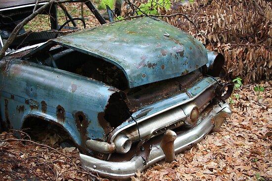 June Old Motor Car by Thomas Murphy