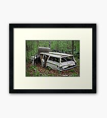 July Old Motor Car Framed Print