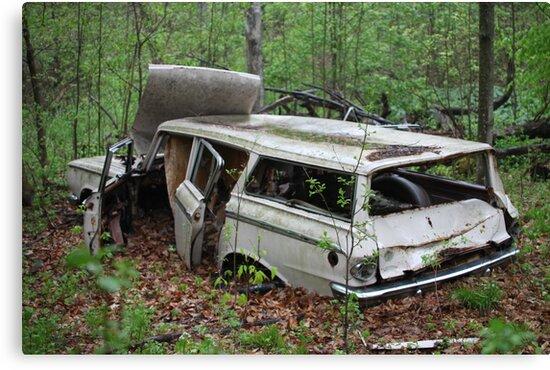 July Old Motor Car by Thomas Murphy