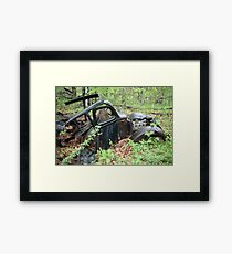 September Old Motor Car Framed Print