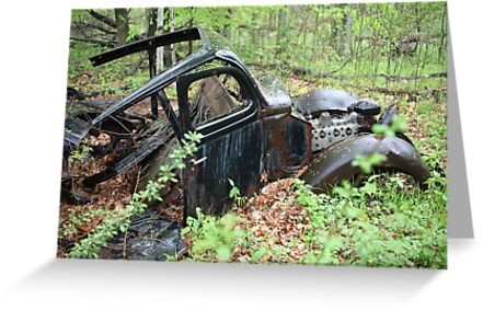 September Old Motor Car by Thomas Murphy