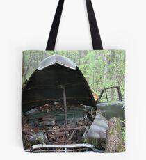 November Old Motor Car Tote Bag