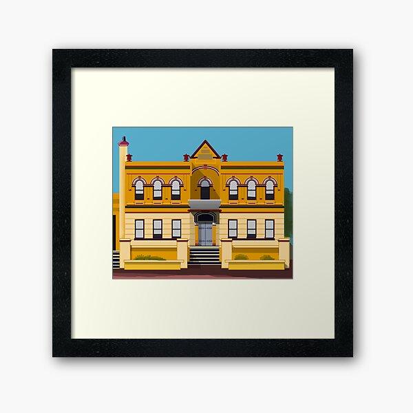 Nowra School of Arts Architecture Framed Art Print