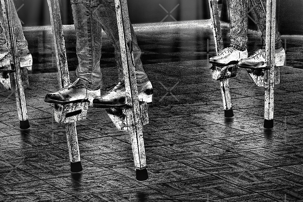 Dancing On Stilts by CarolM