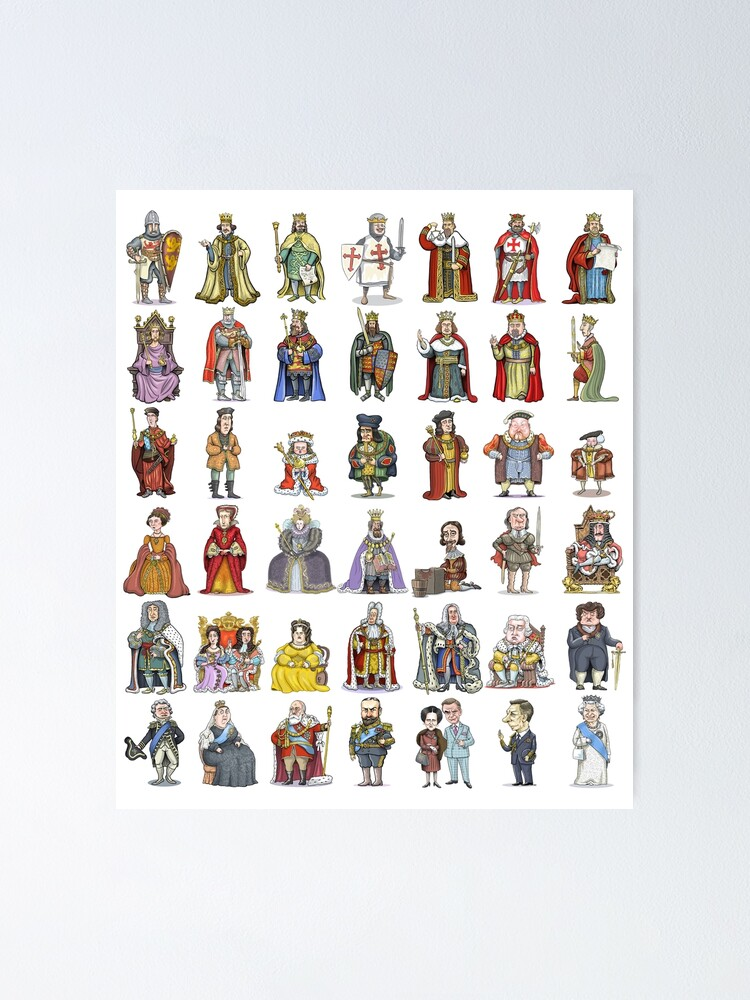Alternate view of British Monarchs: The Complete Set Poster
