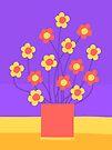 Flower Pot by Nigel Silcock