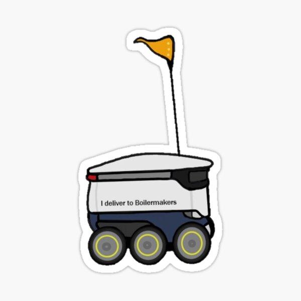 Starship Robot Purdue Sticker
