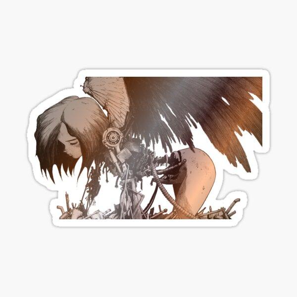 The Iron Angel Sticker