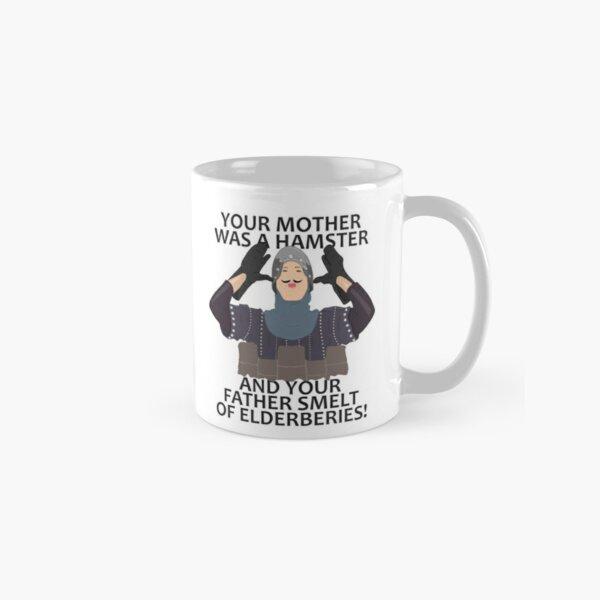 Monty Python French Knight Hamster Classic Mug