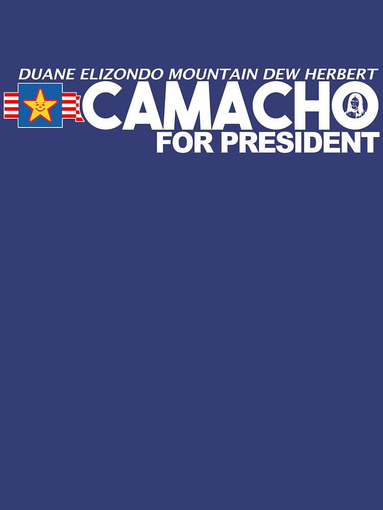 Idiocracy - Camacho for President | Unisex T-Shirt