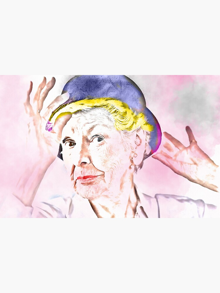 Elaine Stritch [Mixed Media] by michaelroman