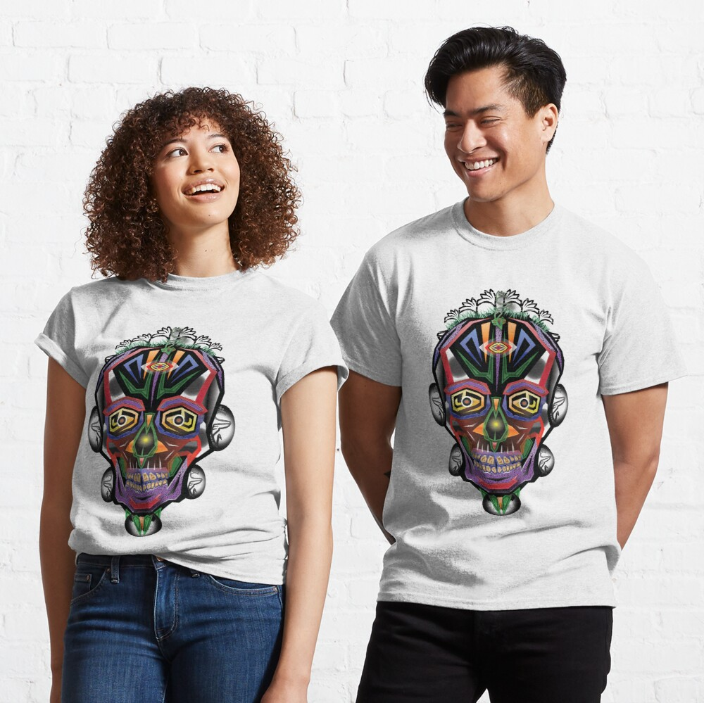 Skull Traction Classic T-Shirt