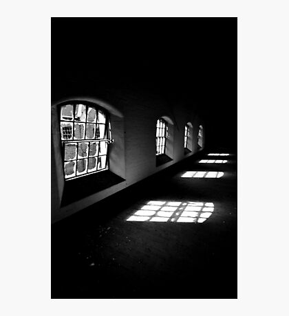The Dark ~ Sleaford Bass Maltings Photographic Print