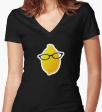 Liz Lemon Women's Fitted V-Neck T-Shirt