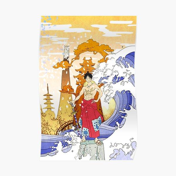 Luffy Wano Kuni Poster