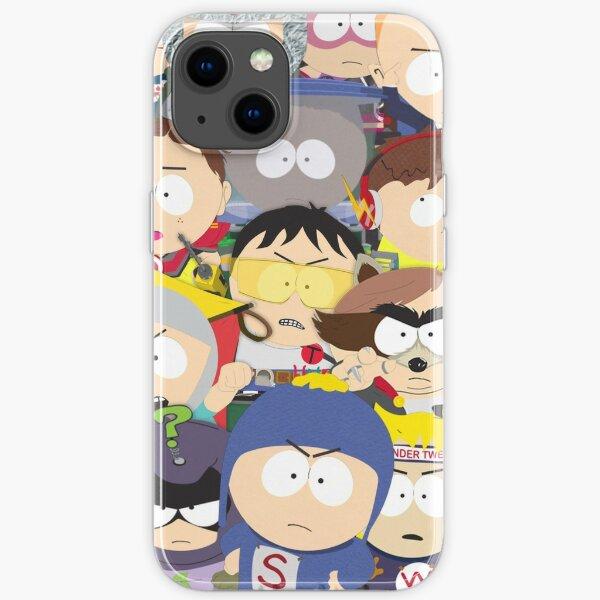 South Park Coon et ses amis Coque souple iPhone