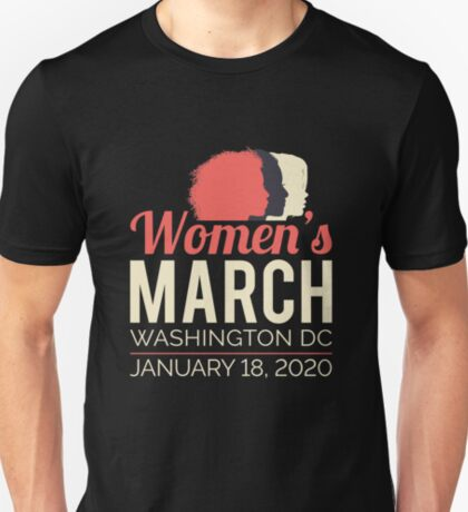 Women's March 2020 Washington DC T-Shirt
