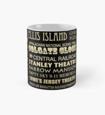 Jersey City Famous Landmarks Mug