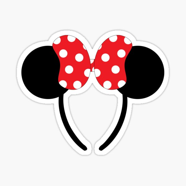 Classic Mouse Ears Sticker