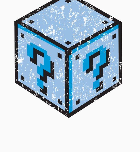 Super Mario Question Box Cube by Danelonx