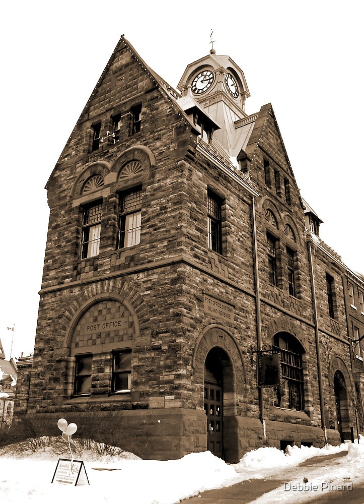 The Old Post Office - Almonte Ontario by Debbie Pinard