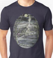Fantasy by Moonlight Oval - Tshirt Unisex T-Shirt