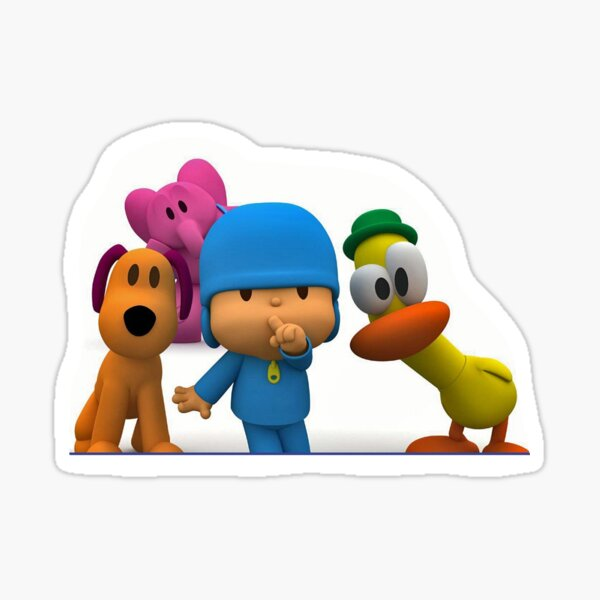 Stickers pocoyo laptop\wall stickers for kids Sticker