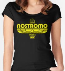 Nostromo. Women's Fitted Scoop T-Shirt