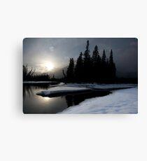 Bow River, Alberta Canvas Print