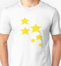 Yellow Stars Unisex T-Shirt