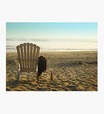 Beer on the Beach Photographic Print