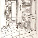 Bedroom Corner by Vicki Lau