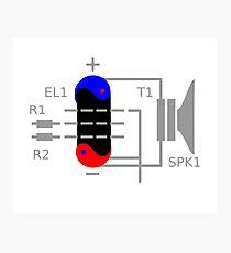 Amplifier Tube Photographic Print