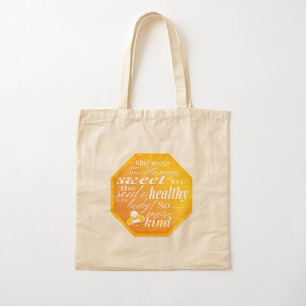 Bee more kind Cotton Tote Bag