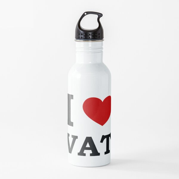 I Love ( Heart ) VAT Water Bottle