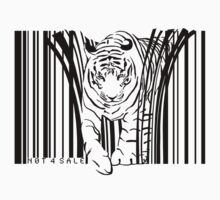TShirtGifter Presents: tiger barcode