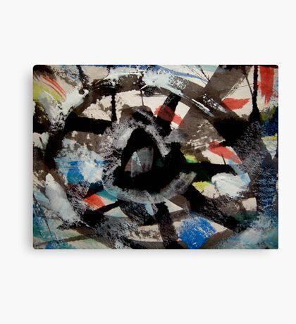 relics.... water wheel Canvas Print