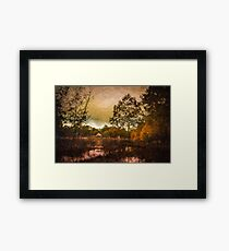 Shades of Fall - Autumn Landscape Framed Print