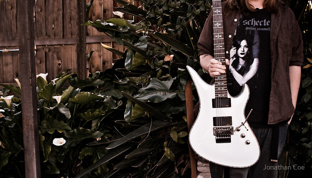 Professional Guitarist - (WPMale-01) by Jonathan Coe