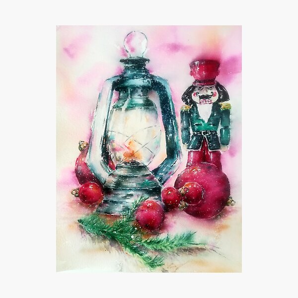 My Xmas Nutcracker Photographic Print
