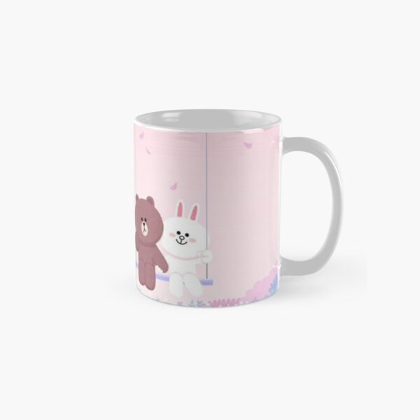 Cute Brown and Cony swing Classic Mug