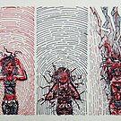 Summoning the Magic Triptych by Vicki Lau