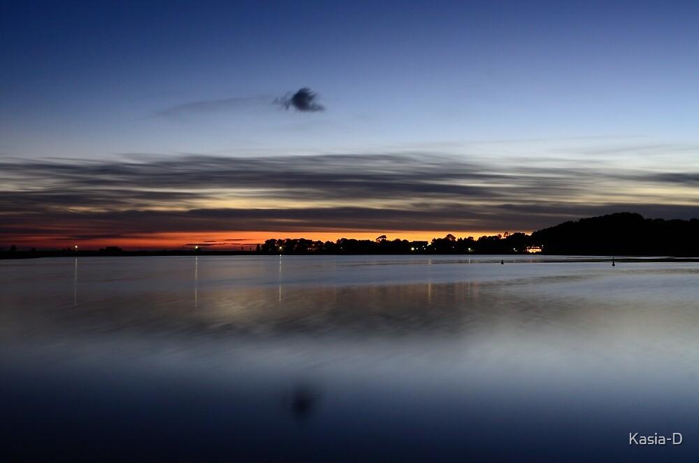 Island of Ruegen: Autumn Sunset by Kasia-D
