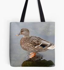 Spring Duck Tote Bag