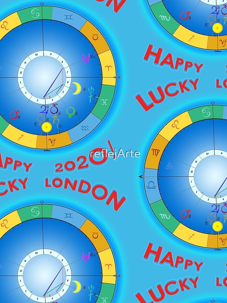 HAPPY 2020 LUCKY LONDON! London's Horoscope for 2020 by reflejArte