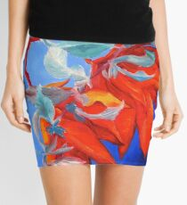 Rhododendron Study Mini Skirt